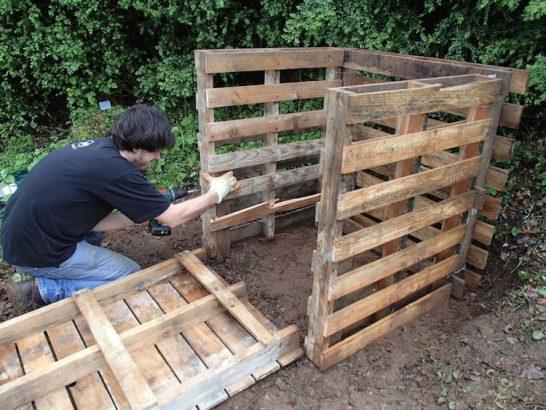 Comment fabriquer un bac à compost en palettes ?
